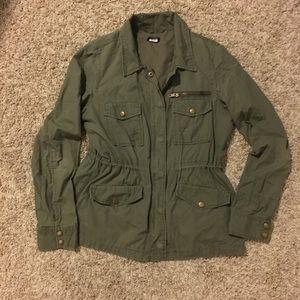 J. Crew Cargo Green/olive Jacket M